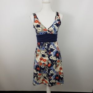 Patagonia Floral Margot a line stretch Dress Small